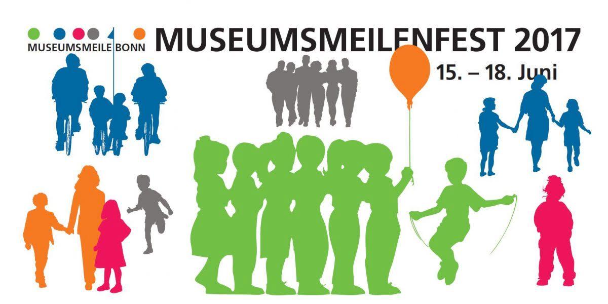 Logo Museumsmeilenfest 2017 in Bonn